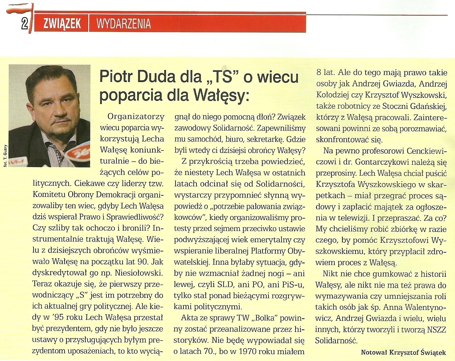 Tygodnik Solidarność, 4 marca 2016 r., nr 10