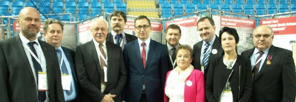"""Delegaci z """"Solidarności"""" Regionu Podbeskidzie podczas spotkania z prezesem IPN w Płocku"""