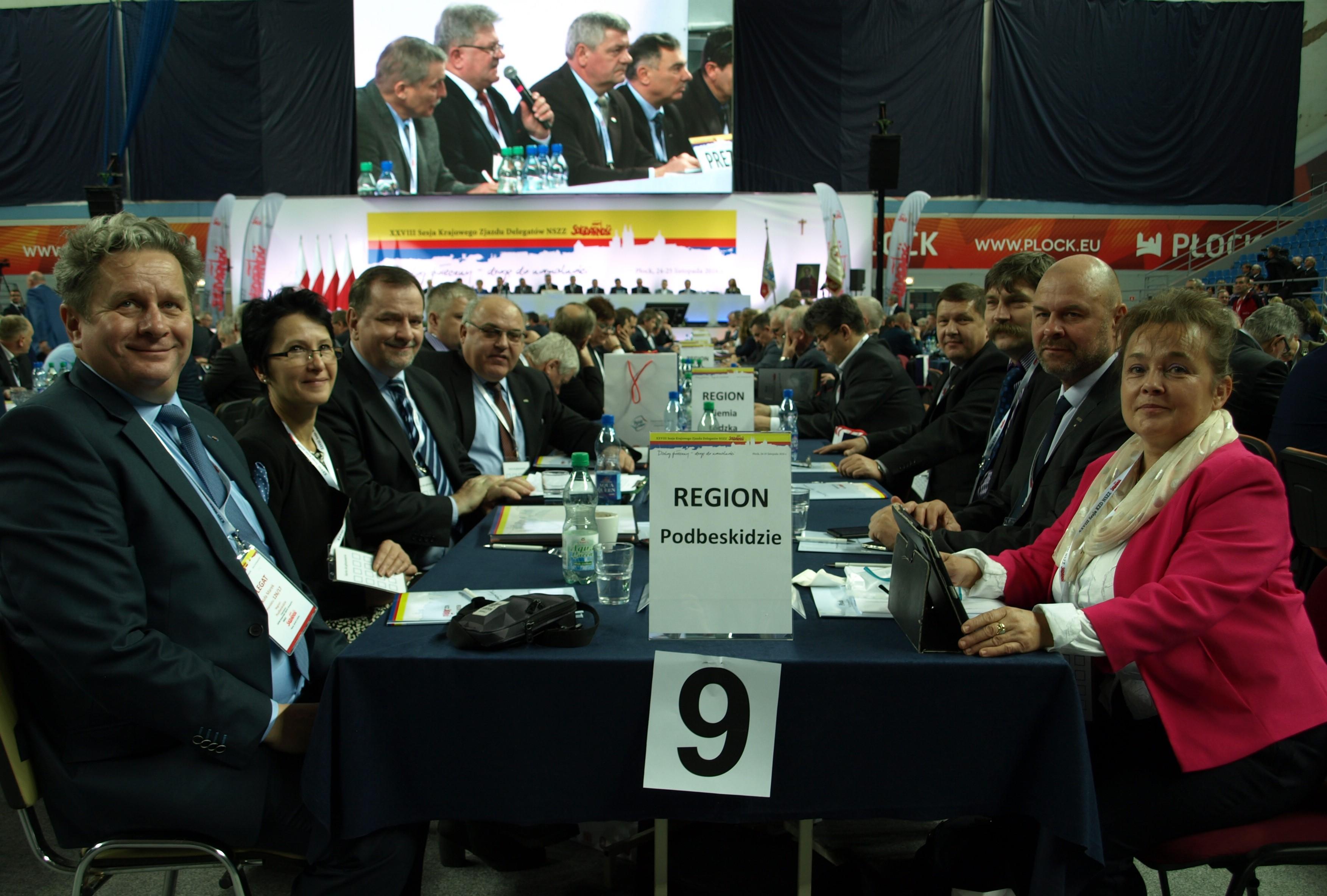 Delegaci z Podbeskidzia
