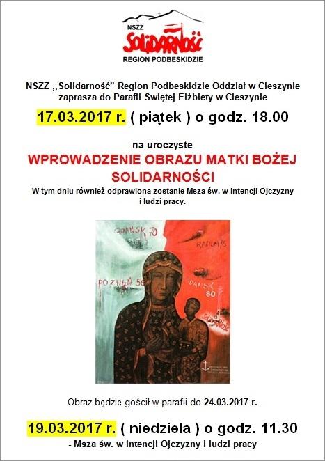 plakat oddział Cieszyn