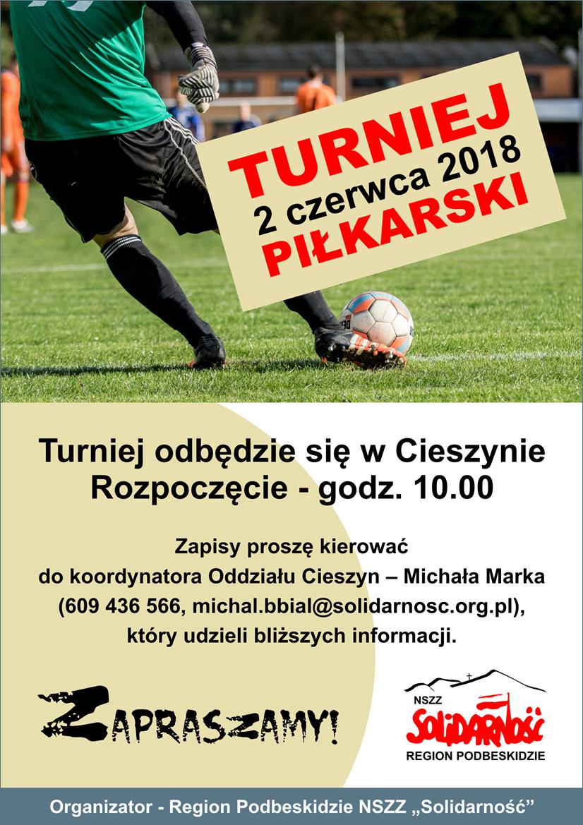 Turniej piłkarski 2018 większy