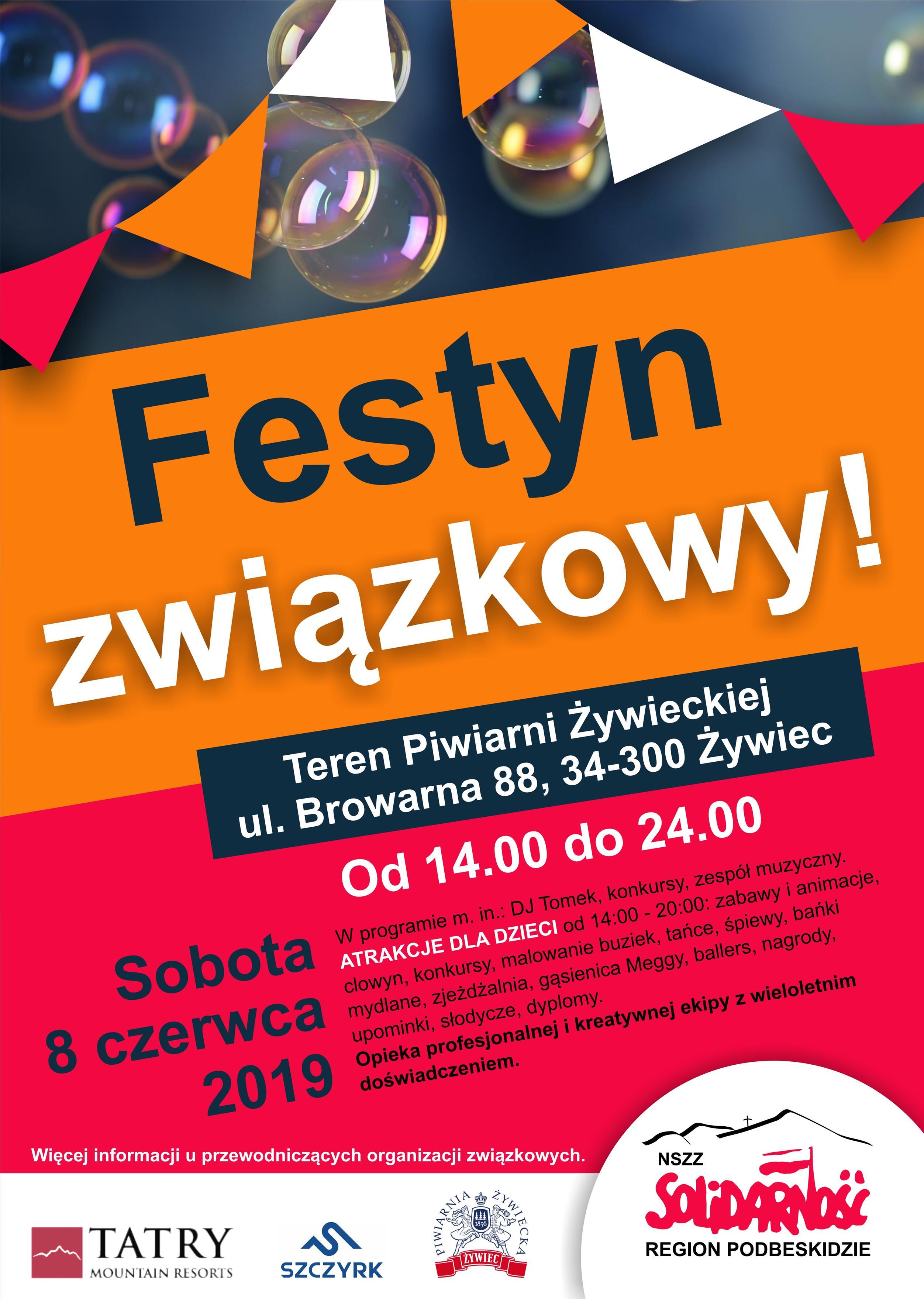 Plakat - Festyn związkowy 2019 (Copy)