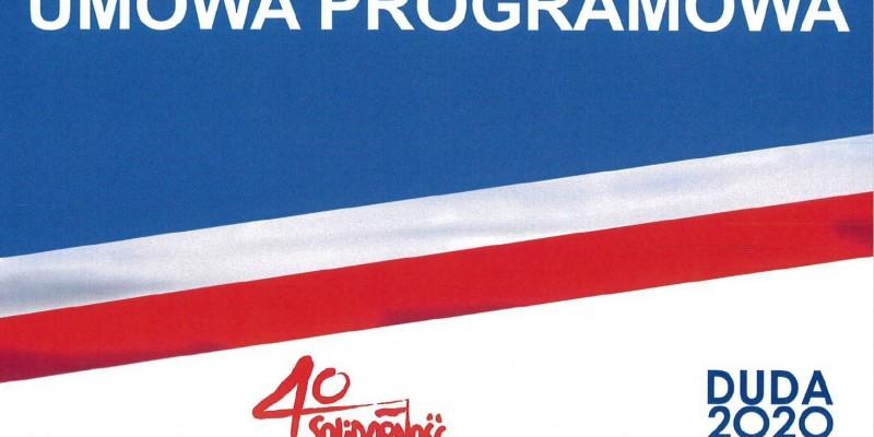 Umowa programowa 2020