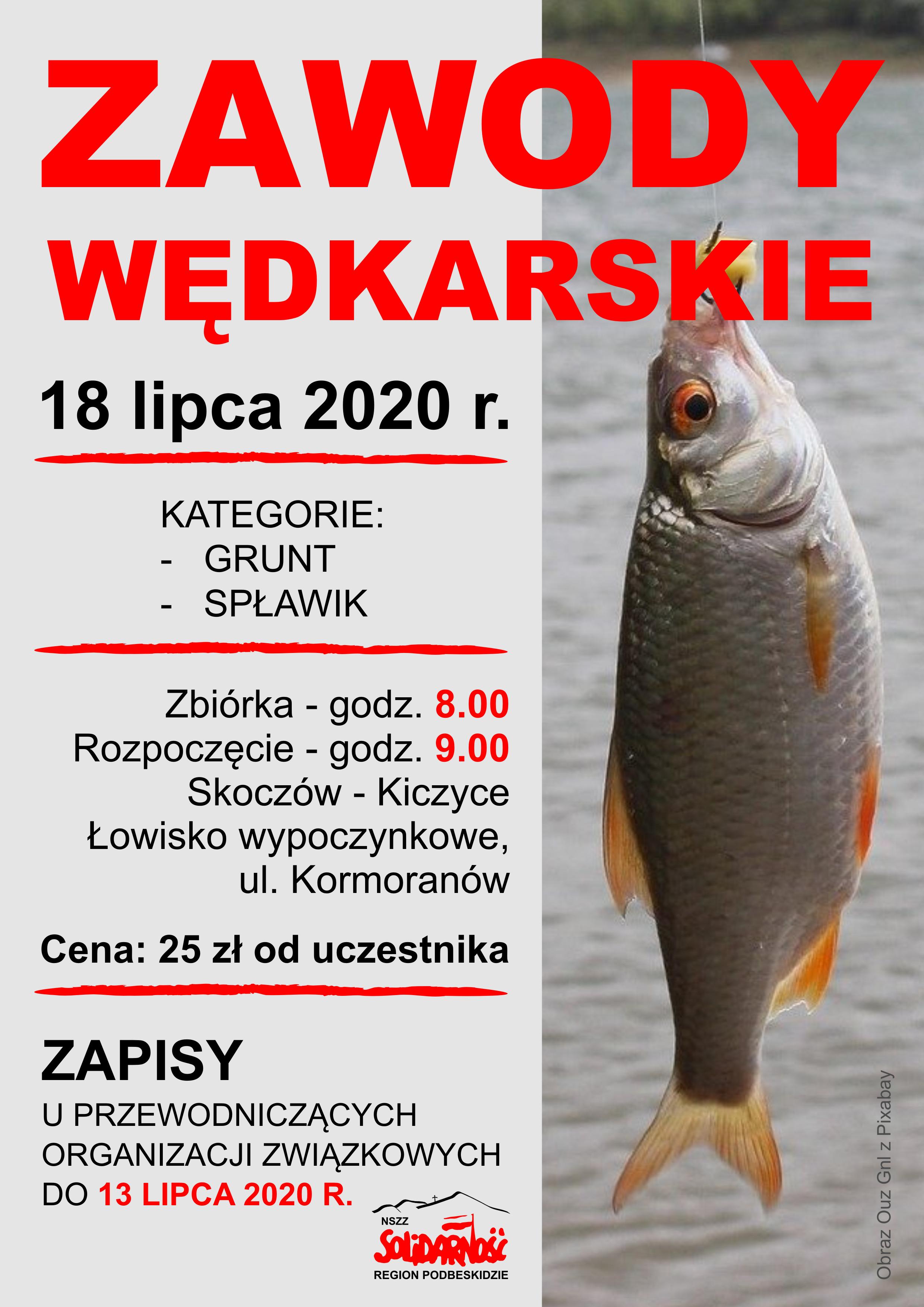 Zawody wędkarskie 2020