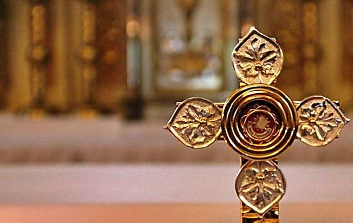"""Relikwie Patrona """"S"""" w Rycerce"""
