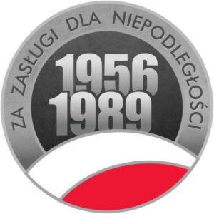 Honorowa odznaka działacza opozycji antykomunistycznej lub osoby represjonowanej z powodów politycznych.