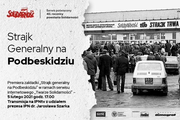 Strajk generalny na Podbeskidziu