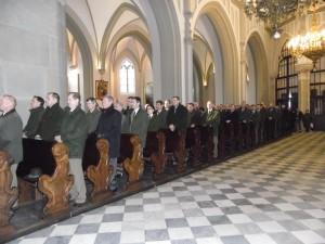 Leśnicy Krakowscy w trakcie koncertu w Krakowie