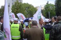 Manifestacja pod Sejmem 4.09.2015