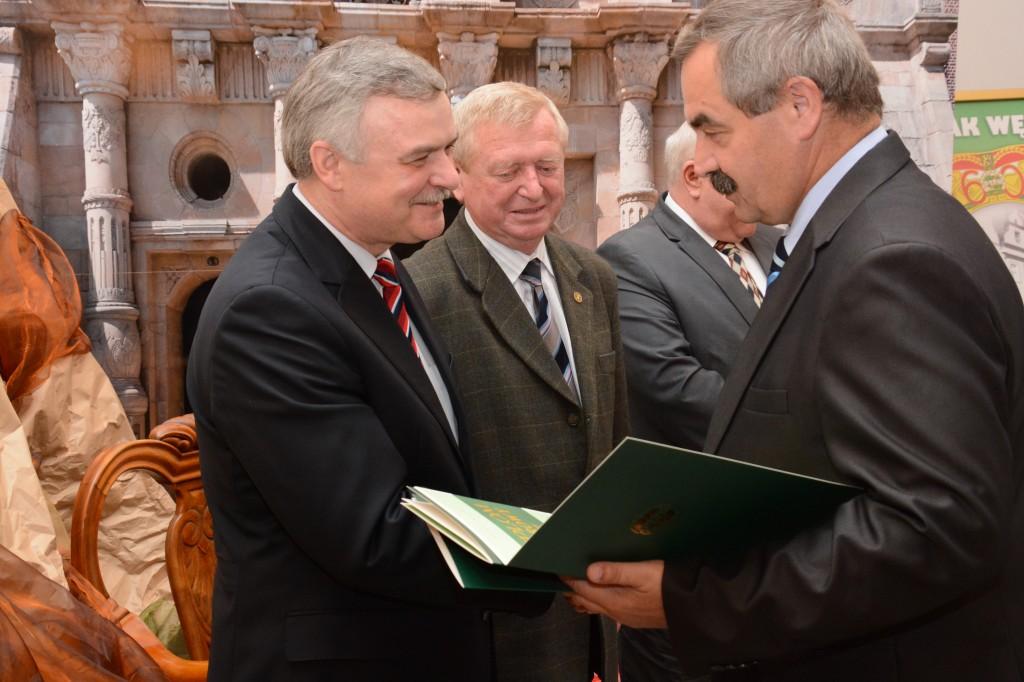 Dyplom Honorowy PTTK dla Regionu ZM NSZZ S