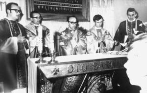 Msza prymicyjna bł ks. Jerzego Popiełuszki