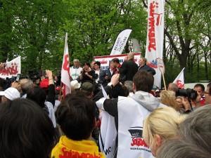 Manifestacja nauczycieli (1)