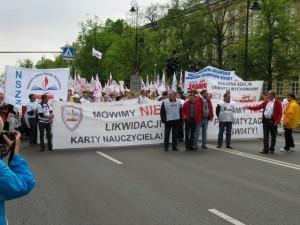Manifestacja nauczycieli (3)