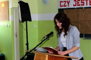 Debata w Gimnazjum nr 1 w Głogowie (1)
