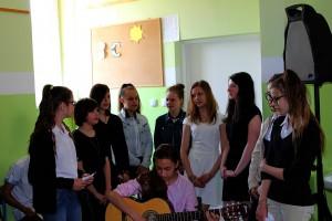 Debata w Gimnazjum nr 1 w Głogowie (2)