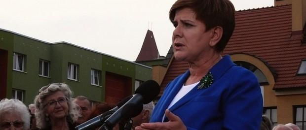 Beata Szydło w Lubinie (2)