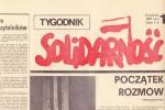 """3 kwietnia ukazał się w 1981 roku pierwszy numer """"Tygodnika Solidarność"""","""