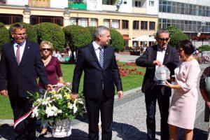 Delegacja Solidarności przy Pomniku Papieża (4)