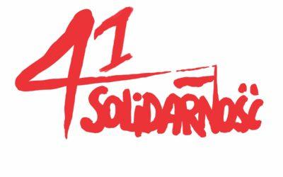 41 rocznica powstania Solidarności