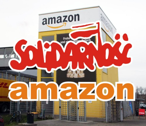 Pokojowa pikieta z nadzieją na dialog w Amazon