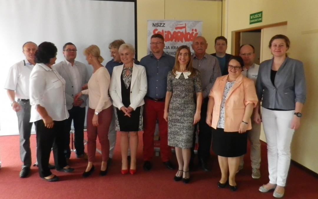 Oświadczenie Przewodniczących Związków Zawodowych sektora handlu Grupy Wyszehradzkiej zgromadzonych na spotkaniu w Katowicach w dniach 23-24 maja 2017 r.