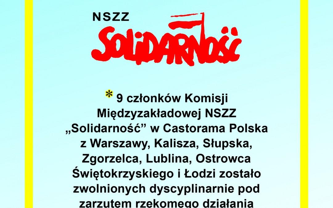 Protest w Castoramie!