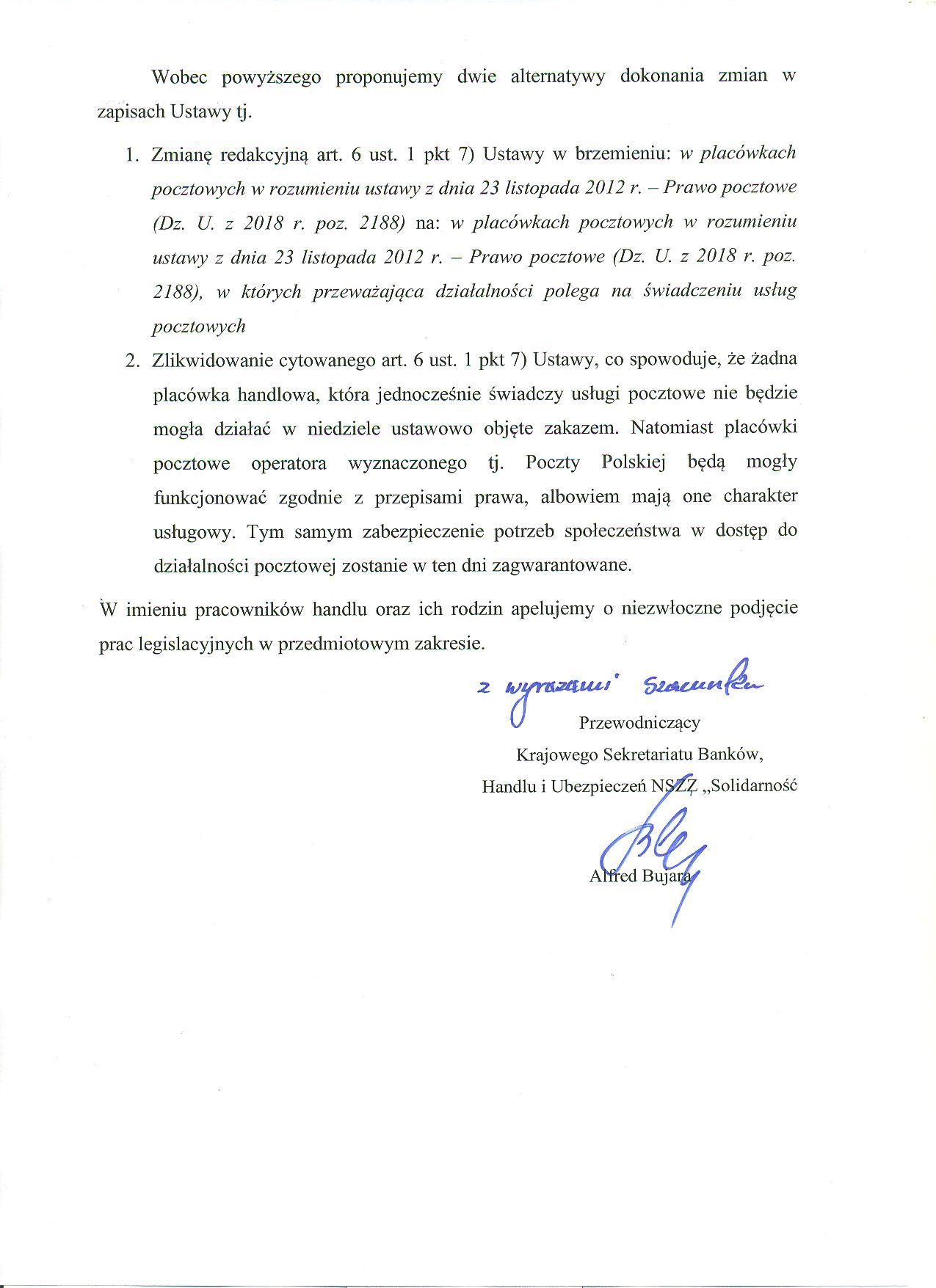 List do Pana Prof. Tyrleckiego 2