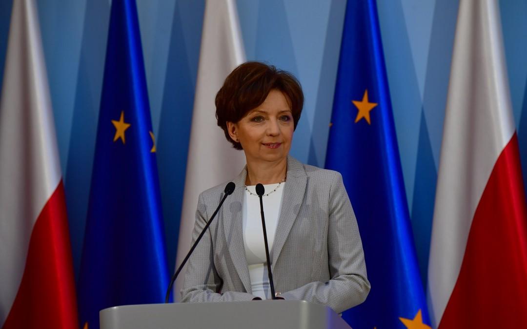 Skan pisma kierowanego do Pani Minister Rodziny, Pracy i Polityki Społecznej Marleny Maląg