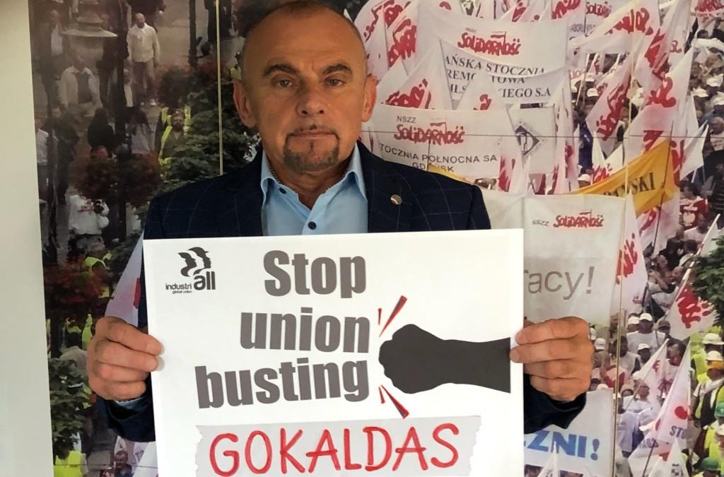 Globalna kampania IndustriALL mającej na celu ochronę praw pracowników w sektorze tekstylnym i odzieżowym.
