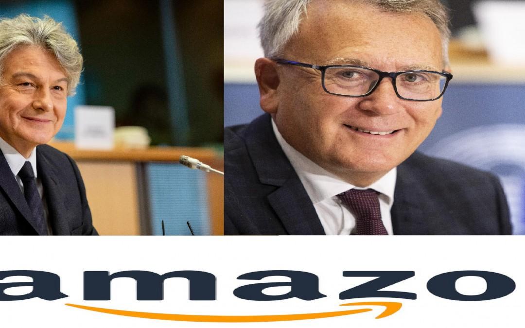 Skan listu dotyczącego ujawnionych działań inwigilowania pracowników z powodu ich legalnej działalności związkowej przez Amazona.