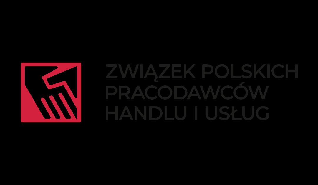Podziękowanie od Związku Polskich Pracodawców Handlu i Usług