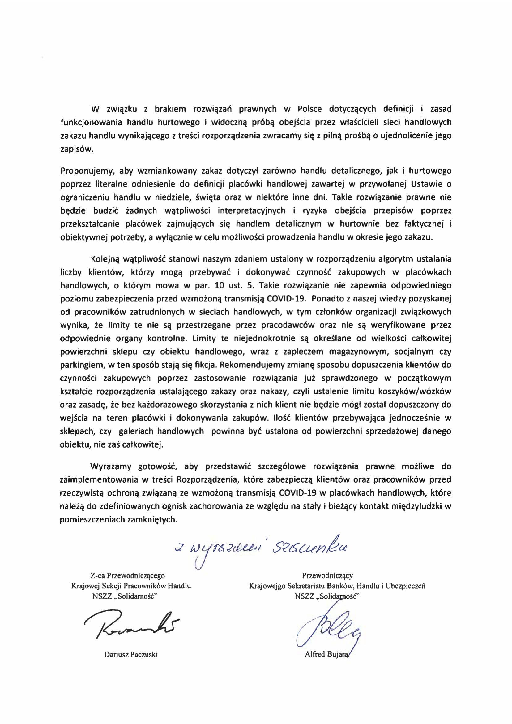 Pismo kierowane do Premiera M.Morawieckiego 21.04.2021 skan-2