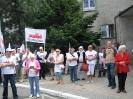 Pikieta w Opolu - 25 maja 2011