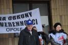 Pikieta w Opolu - 26 marca 2013