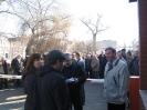 Protest w Taborze Szynowym w Opolu