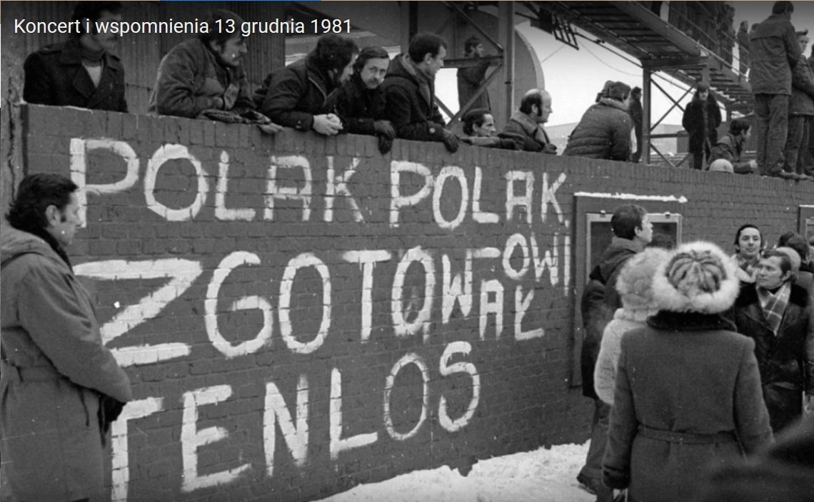Koncert i wspomnienia – 13 grudnia 1981