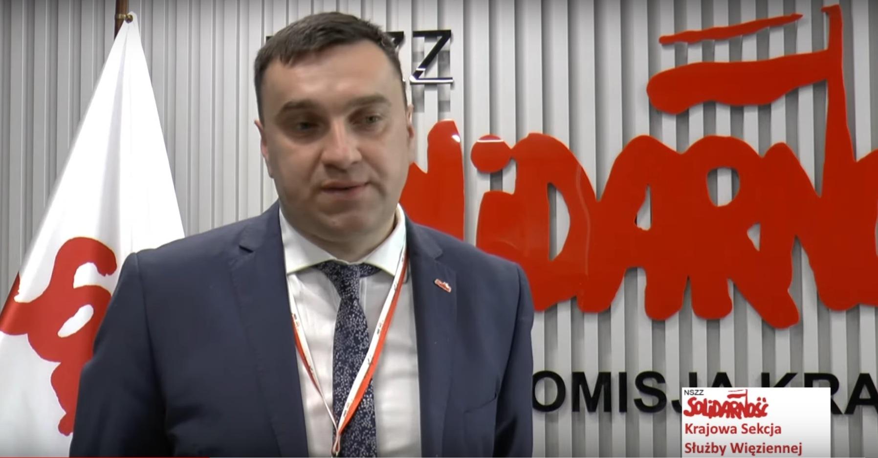 """Andrzej Kołodziejski – przewodniczący Rady Krajowej Sekcji Służby Więziennej NSZZ """"Solidarność"""""""