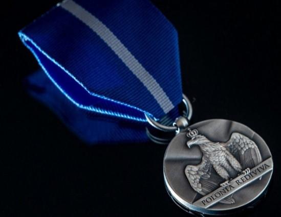 Medal dla Ryszarda