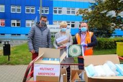 Hutnicza Solidarność pomaga medykom