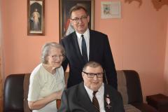 Prezes Jarosław Szarek wręczył Krzyże Wolności i Solidarności