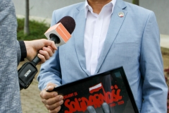 W Polkowicach podziękowali za Solidarność